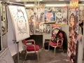 Spot On Caricatures Tattoo stand