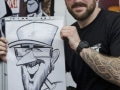 Tattoo show caricature