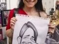 Tattoo show caricatures