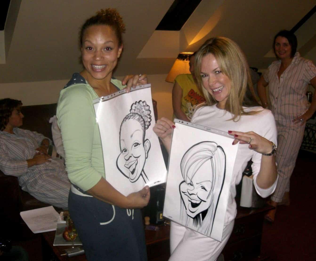 Angela Griffin & Amanda Holden