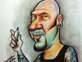 George by Daniel Primera caricature