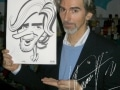 Damon Hill caricature