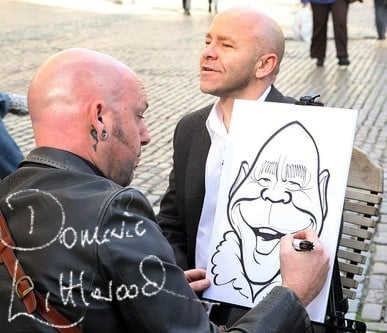 One Show caricature
