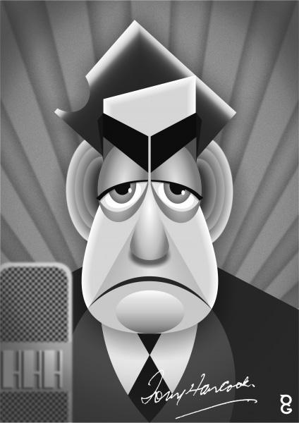 Tony Hancock caricature