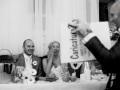 George at wedding