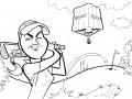 Charley Hull caricature