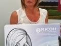 Ricoh golf caricatures