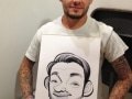 Tattoo Jam caricature