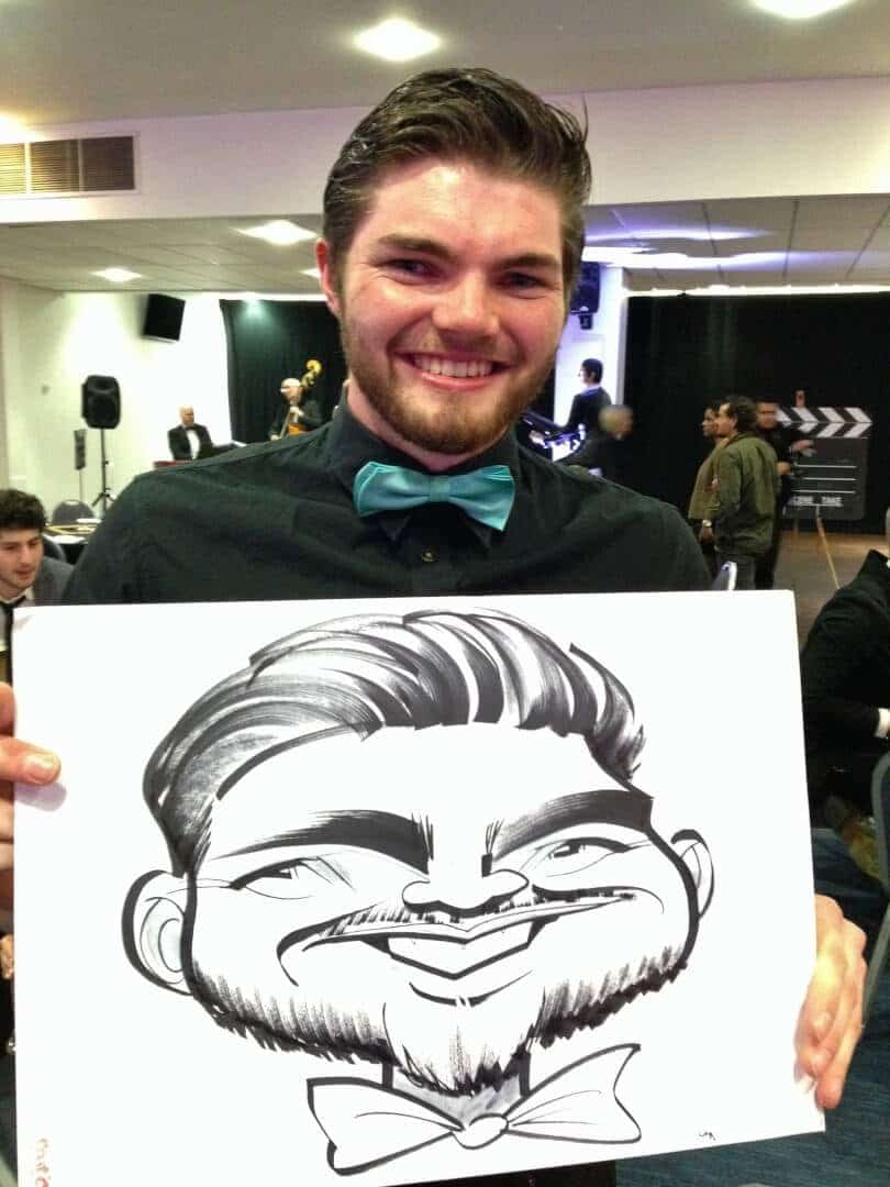 Student Society Ball caricatures