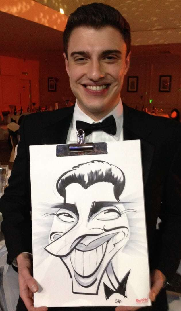 First Xmas party caricatures of 2015