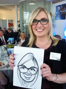 OCS awards caricatures