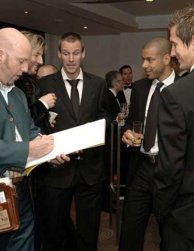 George draws Ooijer at Blackburn Rovers