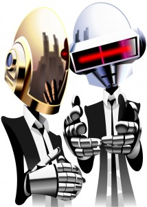 Daft Punk caricature