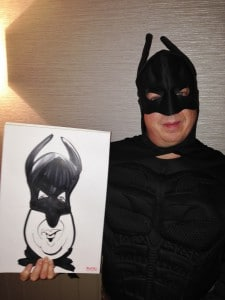 Bat Man caricature