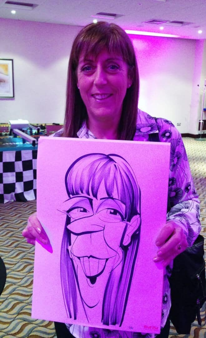 Corporate Conference caricatures