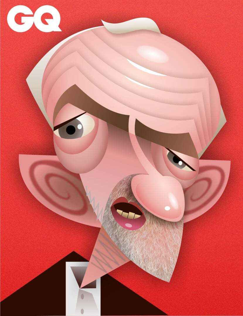 Jeremy Corbyn caricature