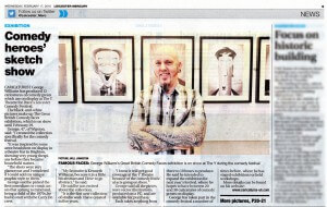 Leicester Mercury article