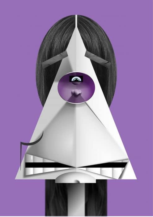 Ozzy Osbourne caricature