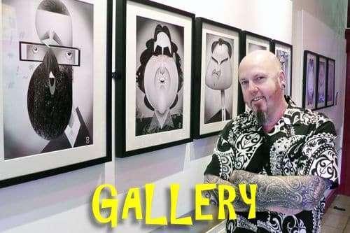 Digital Caricature gallery