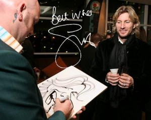 Walkabout Party Caricatures