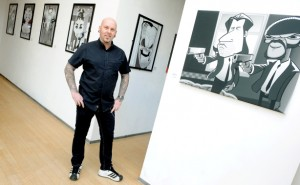 spot on caricature exhibition