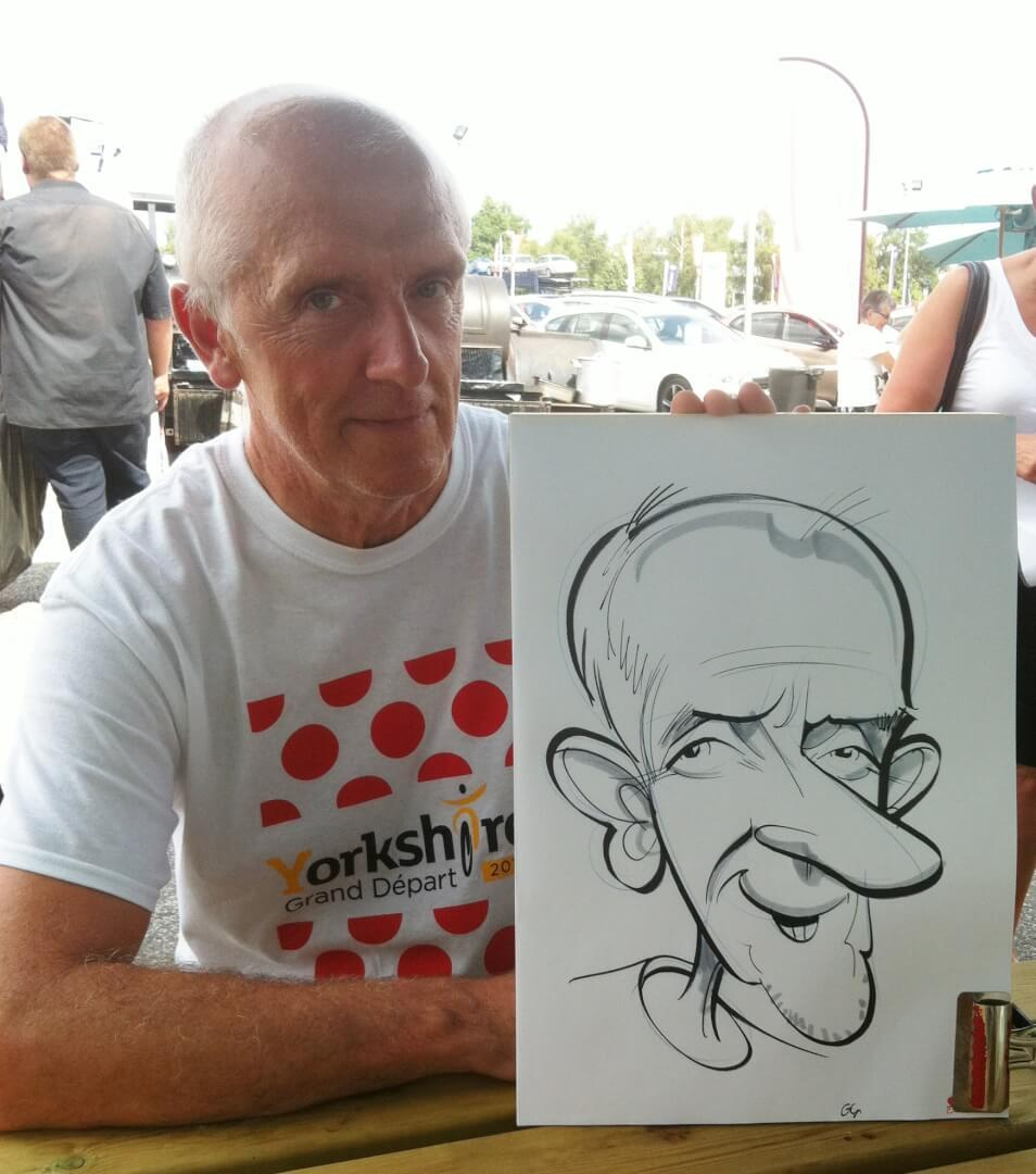Skoda Lincoln, Fun Day caricatures