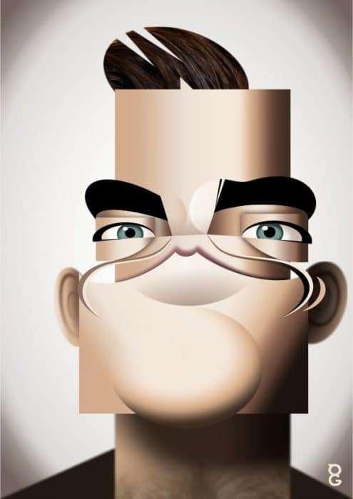 vector Robbie Williams